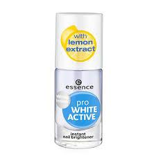 Essence <b>Отбеливающий лак для ногтей</b> Pro White Active, 8 мл ...