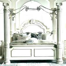 Twin Wood Canopy Bed En – locoapp