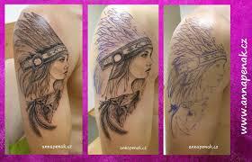 Tetování Zlín Anna Penakanna Penak
