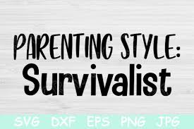 Mom Life Svg Parenting Style Svg File Graphic By Tiffscraftycreations Creative Fabrica