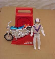 Vintage evel knievel toy