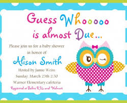 baby shower invitations for girls templates baby shower invitation templates owl themed baby shower invitations