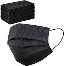 50 Pcs Black Face Masks Breathable Dust Mask ... - Amazon.com