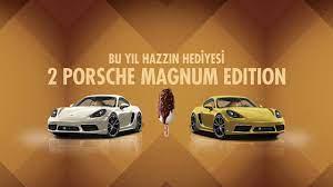 Magnum çekilişi ne zaman yapılacak 2021-2022? Magnum Porsche çekilişine  nasıl başvuru yapılır?