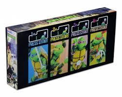 Ninja Turtles Arcade Cabinet Neca Teenage Mutant Ninja Turtles Arcade Game Figures Rpf Pulse