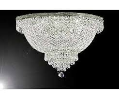 french empire crystal semi flush basket chandelier chandeliers lighting h18 x w24