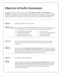 Sample For Resume For Job Resume Objective Examples For Any Job