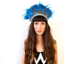 bluebell feather headdress