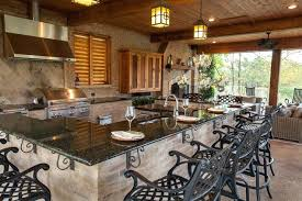rustic pool house ideas. Rustic Outdoor Kitchen Ideas And Pool House Covered Kitchens Photos M