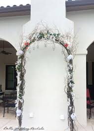 indoor wedding arches. twig wedding arch indoor arches h