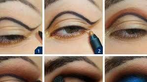 blue dress prom makeup prom makeup for blue eyes and blue dress affordable wodip