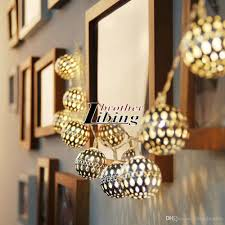 solar patio string lights. Delighful Lights Solar String Lights Outdoor 20 Led Moroccan Sliver Metal Ball Garden Patio  Decor Dream Fairy Lamp Lighting Battery  With