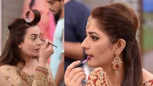 stani celebrities doing their own makeup as brides you