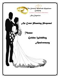 Event Planning Proposal An Event Proposal Wedding Anniversary Proposal