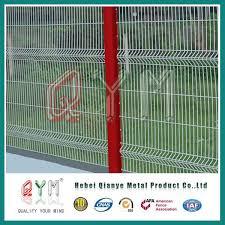 3d bending welded mesh fence 3d garden wire mesh fence panels