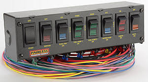 painless wiring switch panel painless image wiring painless wiring 50303 fused rocker switch panel autoplicity on painless wiring switch panel