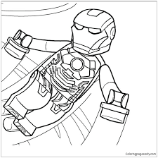 Find more coloring pages online for kids and adults of lego junior race car competition coloring pages to print. Lego Iron Man 1 Coloring Pages Toys And Dolls Coloring Pages Free Printable Coloring Pages Online