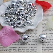 Us 759 5 Offgroßhandel 100 Stücke Weihnachten Silber Kupfer Glocken Als Partei Oder Christbaumschmuck Weihnachtsgeschenke Und Dekorationen In