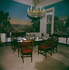 Family Dining Room White House Rooms Red Green Monroe Treaty State Dining Room