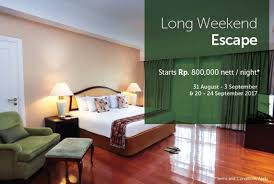 Hotel Istana Permata Ngagel Bisnishotelcom Ini Promo Long Weekend Escape Di Mason Pine