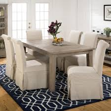 image of parsons chair slipcovers set
