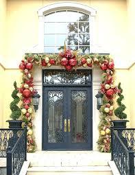 Front Door Garland Ideas Pumpkin Hanger