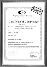 Certificate Of Compliance Template Word Certificate Templates Compliance Certificate Template