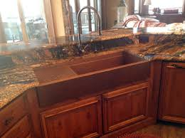 Copper Kitchen Sink Faucet Kitchens With Copper Sinks Best Kitchen Ideas 2017