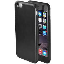 premium synthetic leather iphone 6 case black black