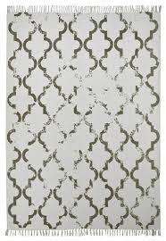 stockholm moroccan tile floor rug taupe 120x170 cm