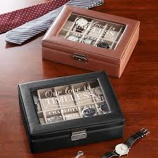 anniversary gifts for men gifts com love is timeless watch box