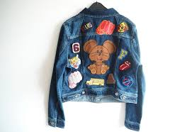 patches are back in style thanks to the likes of celebrities such as beyoncé blue ivy and more importantly diy fans this denim jacket was made