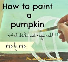 how to paint a pumpkin canvas art skills not required