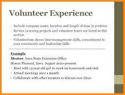 Volunteer Work On Resume Example Custom 4848 How To Describe Volunteer Work On Resume Symbiosisartscienceorg