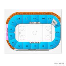Elmira Enforcers Seating Chart Danbury Hat Tricks At Elmira Enforcers Tickets 1 4 2020 7