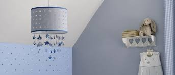 nursery ceiling lighting. Blue Stars Mobile Ceiling Shade | Laura Ashley Throughout Light Shades For Nursery Lighting