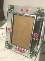 pressed flowers in glass frames 4 x 6 picture frame pressed flowers clear glass standing frame