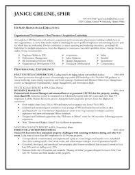 Hr Executive Resume Samples Image Proyectoportal Com