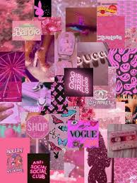 Pretty In Pink Photo Wall Collage Kit ...