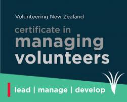 Volunteer Certificates Certificate In Managing Volunteers Volunteering New Zealand