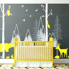 woodland creatures wall decals decal beautiful animal track field . Woodland Creatures Wall Decals Forest Animal