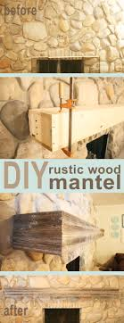 we needed a wood mantel installed on a stone wall see how we figured out