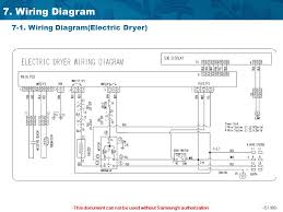 samsung wiring diagrams for dryer samsung image this document can not be used out samsung s authorization 1 on samsung wiring diagrams for