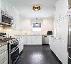 kitchens with white cabinets. White Kitchen Cabinets With Black And Gray Granite Countertops Kitchens P