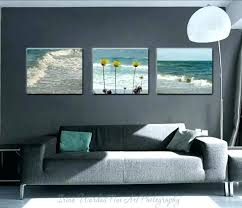 beach wall art canvas beach wall art decor large beach photography canvas wall art set of