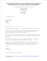 Thank You Business Letter Templates At