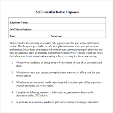 review examples for employees annual performance review employee self evaluation examples