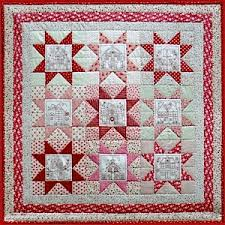 Patchwork Quilt Patterns Custom The Little Patchwork Village Quilt Pattern By Rosalie Quinlan