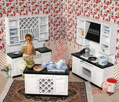 miniature doll furniture. Mordern Wooden 1:12 Miniature Dollhouse Kitchen Furniture Cabinets Set Play Doll House Accessories-in Toys From \u0026 Hobbies On Aliexpress.com
