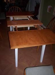 dining room table leaves. A Draw-leaf Dining Room Table I Built - Just In Time For Thanksgiving, 2007 Leaves